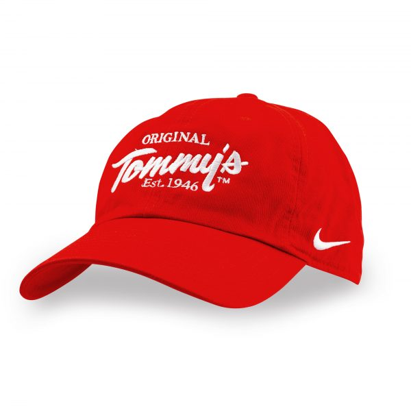 Nike Original Tommy's Ballcap (Red or Black)